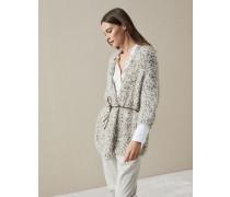 Cardigan Precious Texture aus Mohair und Wolle