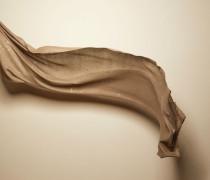Schal aus Kaschmir und Diamantseide