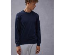 Shirt aus Jersey aus Seide und Baumwolle