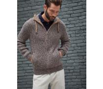 Cardigan im Sweatshirt-Stil