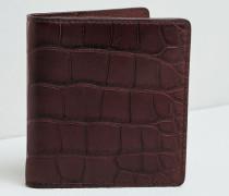 Portemonnaie aus Krokodilleder
