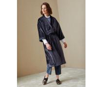 Mantel aus Scuba-Samt mit glänzender Applikation