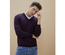 Leichter Pullover aus Wolle und Kaschmir