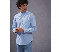 Hemd Slim Fit aus leichtem Oxford