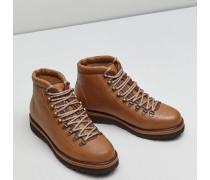 Boots Hiking aus Shade Grain-Kalbsleder