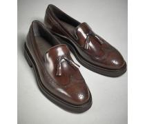 Longwing-Loafer Formal aus Kalbsleder mit Quasten