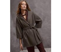Mantel aus leichtem Kaschmirtuch