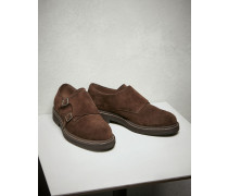 "Monkstrap ""Casual"" aus Veloursleder"