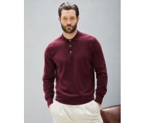 Leichter Pullover im Polo-Shirt-Stil aus Baumwolle