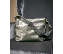 Tasche aus Lamé-Leder