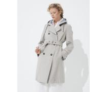 Jacke aus doppeltem Tuch aus Wolle und Kaschmir