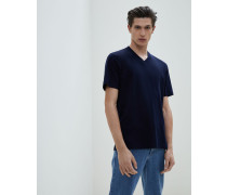 V-T-Shirt in Leisure Fit