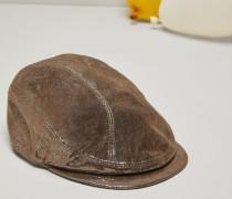Mütze aus Sparkling Nappaleder