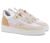 KEIKO Low Top Sneakers in Beige
