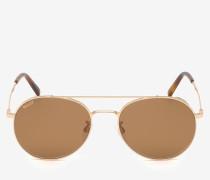 Klassische Palm Pilotensonnenbrille Braun