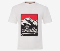 T-Shirt Aus Baumwolle Für Herren Weiß S