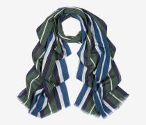 Schal Mit Vertikalen Streifen Mehrfarbig