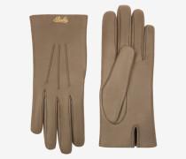 Leather Gloves Braun