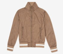 Bomberjacke Aus Funktionsnylon Neutral