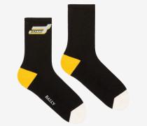 Kurze Competition Socken Mehrfarbig