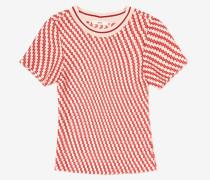 T-Shirt Mit B-Kettenmotiv Rosa