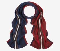 Doppelseitiger Schal Mit Streifen Mehrfarbig 1