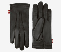 Lederhandschuhe Schwarz 9