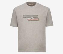 T-Shirt Mit Bally Auto-Print Grau