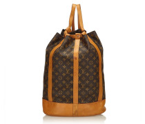 "Second Hand  ""Randonnée GM Monogram Canvas"""