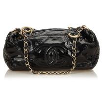 Second Hand  Lackleder-Handtasche