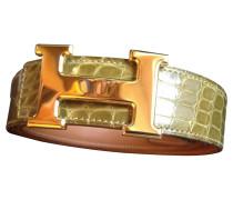 Second Hand  Gürtel aus Krokodilleder