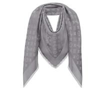 Second Hand  Schal/Tuch aus Seide in Grau