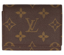Second Hand  Visitenkartenetui aus Monogram Canvas