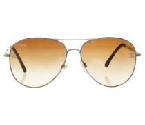 Second Hand  Pilotenbrille in Braun