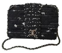 Second Hand  Flap Bag aus Tweed