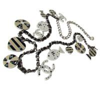 Second Hand  CHANEL Kettengürtel-Gürtel-Kette mit schwebenden FISCHEN & HERZEN Charms