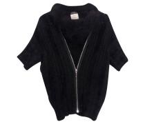 Second Hand  Kurzarm-Pullover mit Angora-Anteil