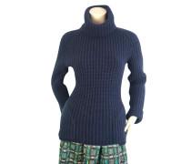 Second Hand  Blauer Pullover