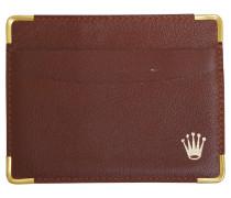 Second Hand  Karten-Etui in Braun