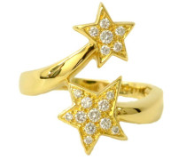 Second Hand  Ring aus Gelbgold in Gold