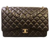 """Second Hand  """"Maxi Double Flap Bag"""""""