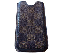 Second Hand  iphone 4 Case in Damier Canvas