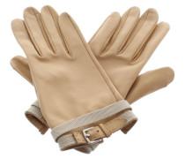 Second Hand  Handschuhe in Beige