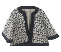 Second Hand  Jacke mit Muster