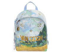 Second Hand  Palm Springs Backpack aus Canvas