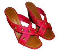 Second Hand  Strawberry Cabas Wedge