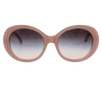 Second Hand  Rosafarbene Sonnenbrille