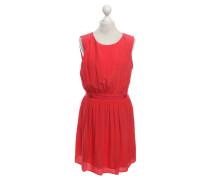 Second Hand  Seidenkleid in Rot