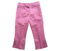 Second Hand  Hose aus Baumwolle in Rosa / Pink