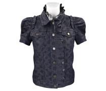 Second Hand  Jacke/Mantel aus Baumwolle in Blau